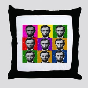 Famous Dead People Throw Pillow