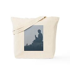 grey buddah Tote Bag