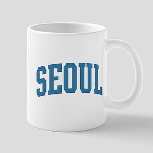 Seoul (blue) Mug