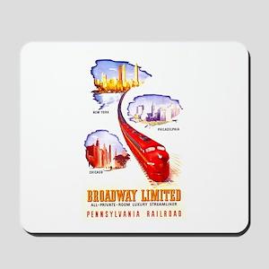 Broadway Limited PRR Mousepad