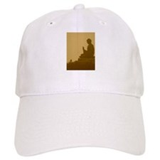 brown buddha Cap