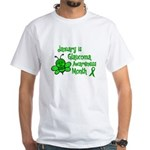 Glaucoma Awareness Month BEE 3 White T-Shirt