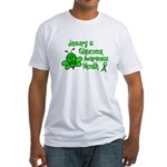 Glaucoma Awareness Month BEE 3 Fitted T-Shirt