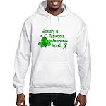 Glaucoma Awareness Month BEE 3 Hooded Sweatshirt