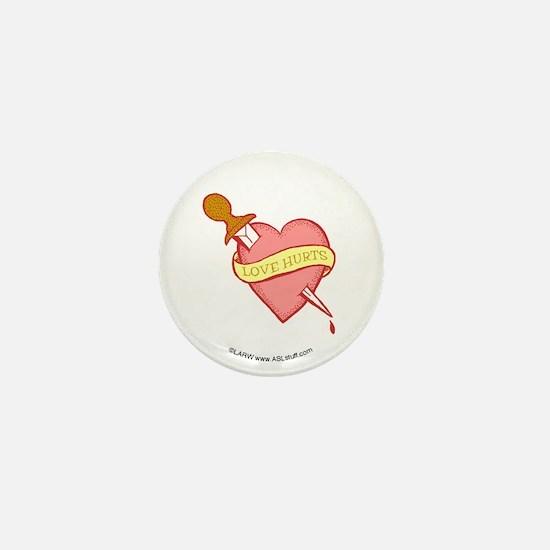 Tattoo Heart Mini Button