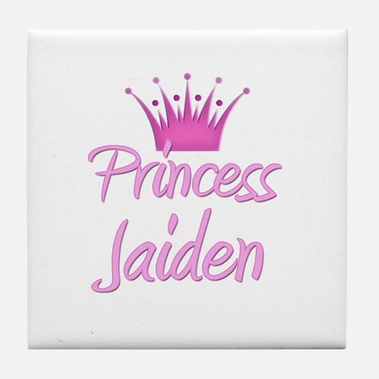 Princess Jaiden Tile Coaster