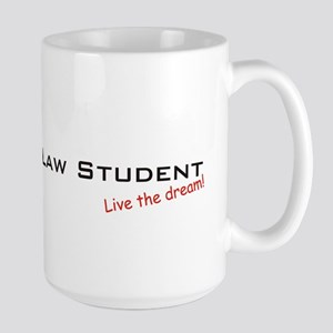 Law Student / Dream! Large Mug