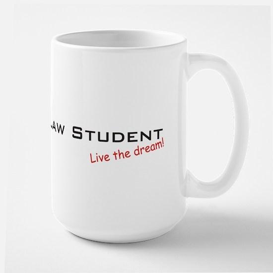 Law Student / Dream! Large Mug