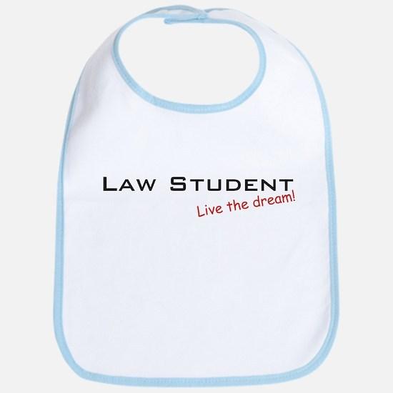 Law Student / Dream! Bib