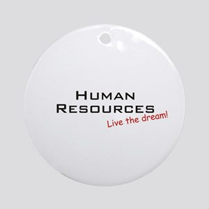 Human Resources / Dream! Ornament (Round)