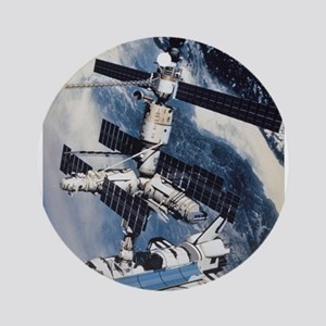 International Space Station Ornament (Round)