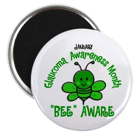 Glaucoma Awareness Month BEE 2 Magnet
