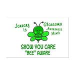 Glaucoma Awareness Month BEE 1 Mini Poster Print