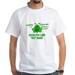 Glaucoma Awareness Month BEE 1 White T-Shirt
