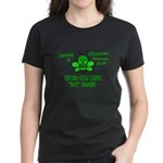 Glaucoma Awareness Month BEE 1 Women's Dark T-Shir