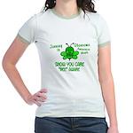Glaucoma Awareness Month BEE 1 Jr. Ringer T-Shirt