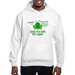 Glaucoma Awareness Month BEE 1 Hooded Sweatshirt