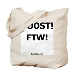 BOOST! FTW! - Racing Tote Bag