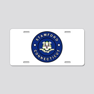 Stamford Connecticut Aluminum License Plate
