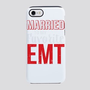 Married to my favorite EMT G iPhone 8/7 Tough Case