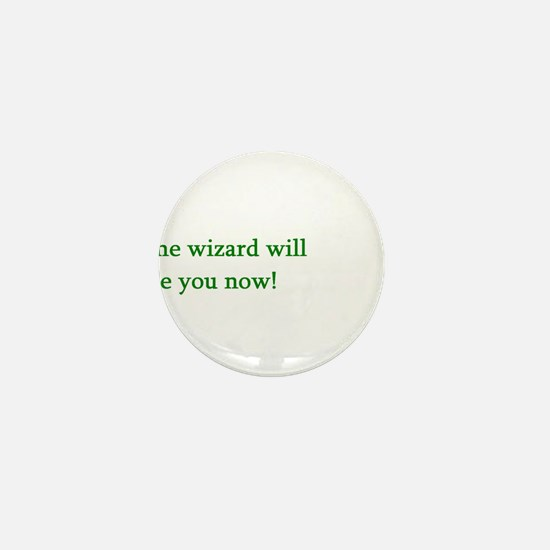Funny Wicked broadway Mini Button