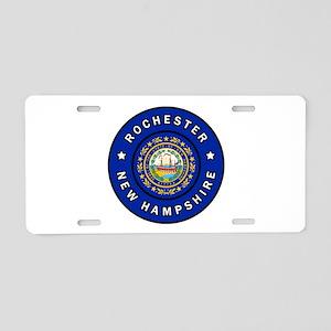 Rochester New Hampshire Aluminum License Plate