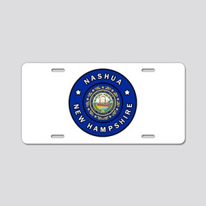 Nashua New Hampshire Aluminum License Plate