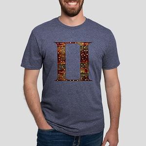 Metal Gemini Mens Tri-blend T-Shirt
