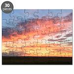 Prairie Sunset Puzzle