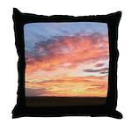 Prairie Sunset Throw Pillow