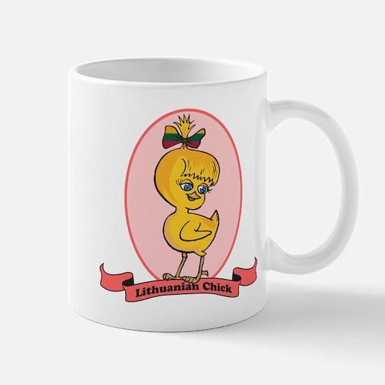 Lithuanian Chick Mug