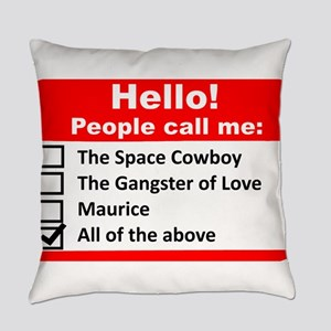 Hello My Name is.... Everyday Pillow