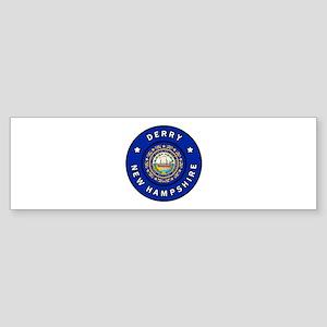 Derry New Hampshire Bumper Sticker