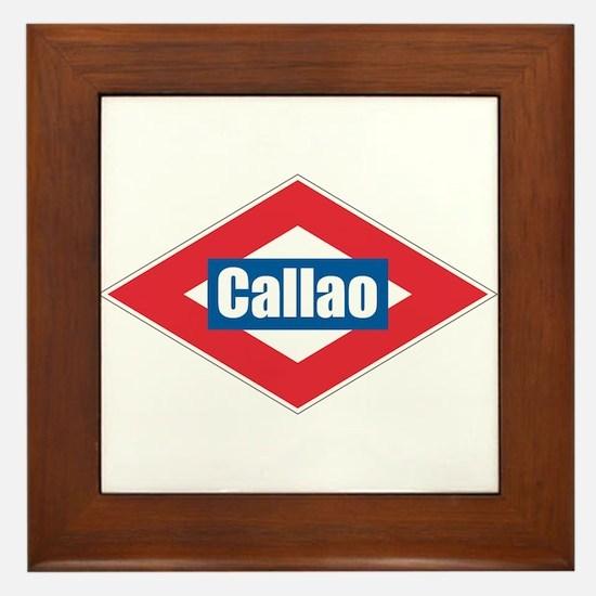 Callao Framed Tile