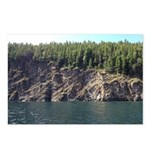 Waterton Cliffside Postcards (Package of 8)