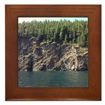 Waterton Cliffside Framed Tile