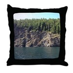Waterton Cliffside Throw Pillow