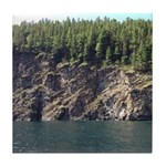 Waterton Cliffside Tile Coaster