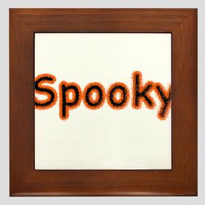 Spooky Halloween (or not) Framed Tile