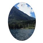 Waterton Lake Oval Ornament