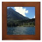 Waterton Lake Framed Tile