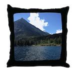 Waterton Lake Throw Pillow