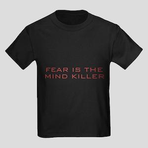 Fear Is The Mind Killer Kids Dark T-Shirt