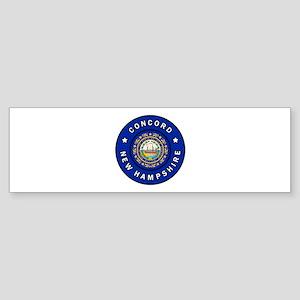 Concord New Hampshire Bumper Sticker