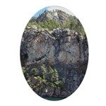 Waterton Cliffs Oval Ornament