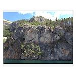 Waterton Cliffs Small Poster