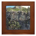 Waterton Cliffs Framed Tile