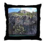 Waterton Cliffs Throw Pillow