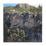 Waterton Cliffs Tile Coaster