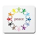 Peace Bebes Mousepad